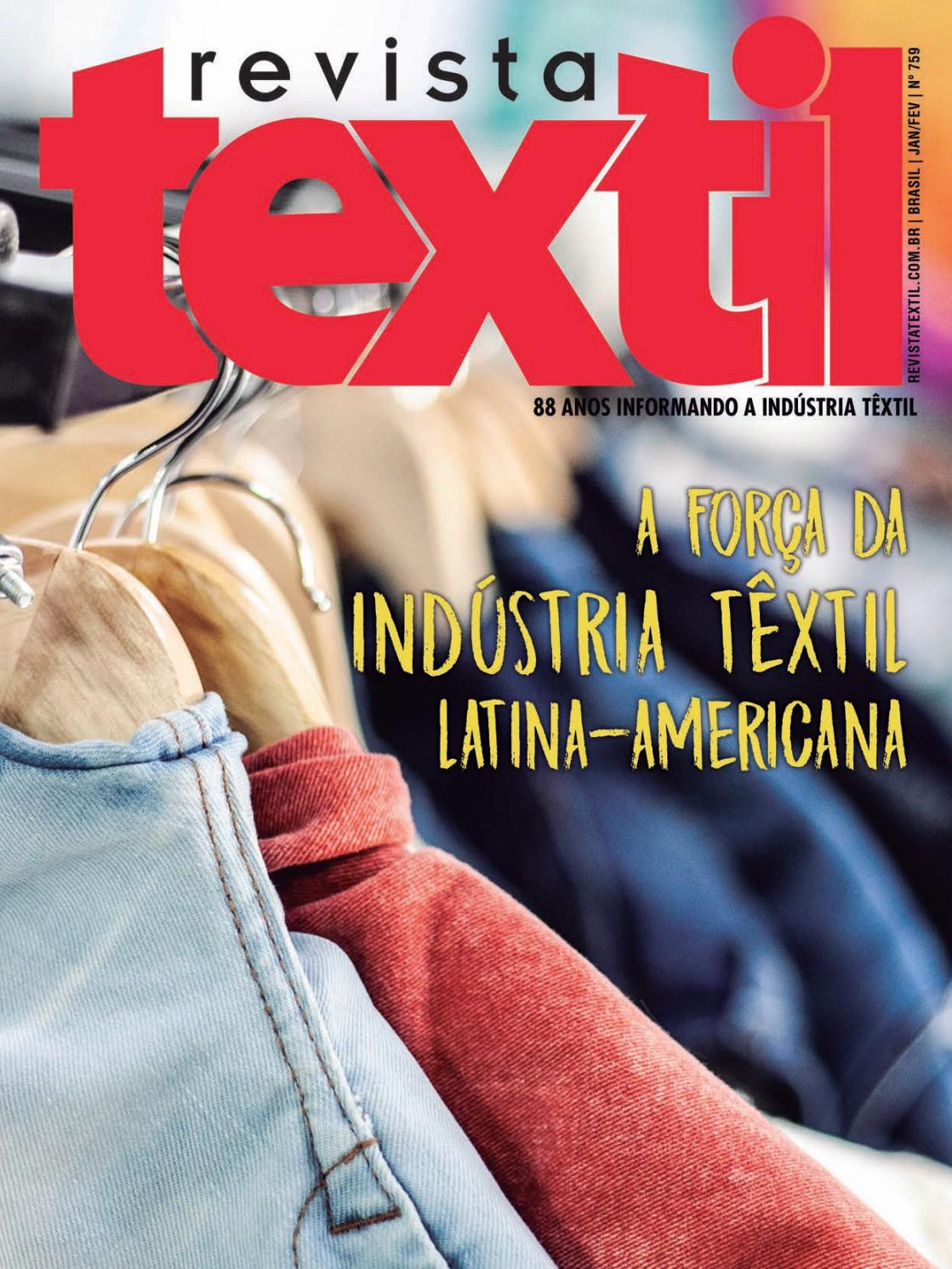 ca62566c9e0d REVISTA TEXTIL 759 by Revista Textil - issuu