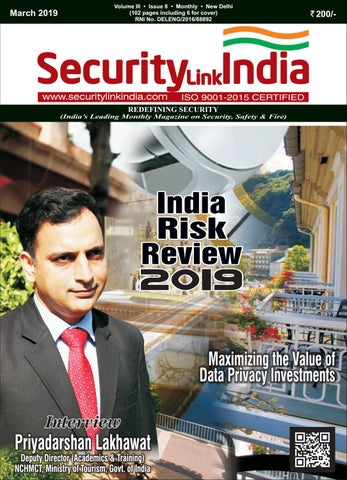 SecurityLink India Magazine March 2019 by Security Link