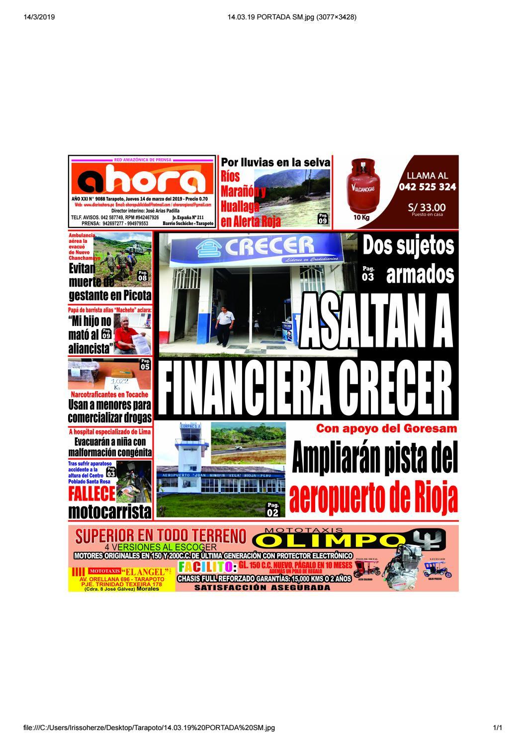 d6ff9891e65fc Tarapoto 14 de Marzo del 2019 by Jonatan Arias - issuu