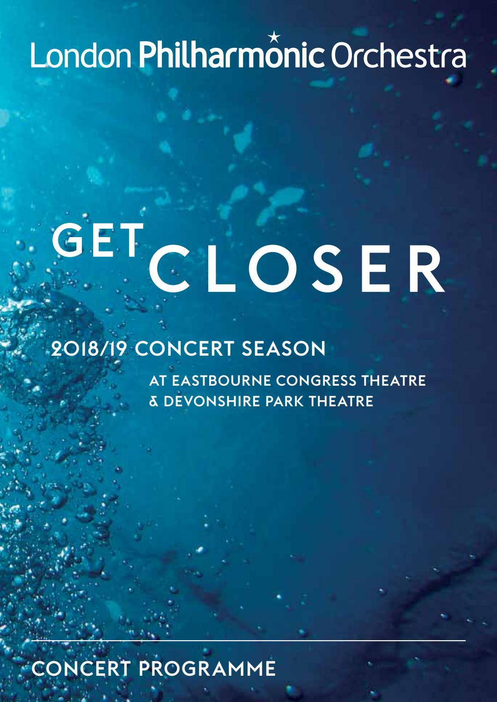 6e98439b81b London Philharmonic Orchestra 24 Mar 2019 Eastbourne concert programme