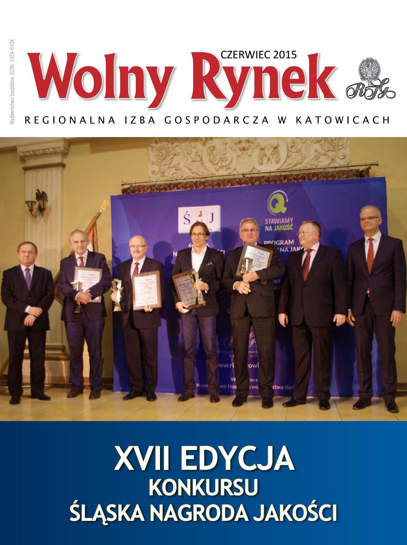 41d4f77d309ed5 Wolny Rynek - czerwiec 2015 by Regionalna Izba Gospodarcza w Katowicach -  issuu