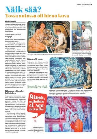 Page 9 of Näik sää? Tossa autossa oli hieno kuva