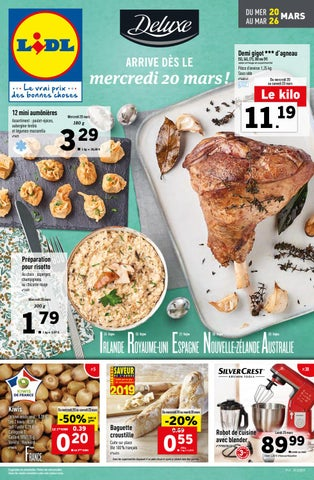 20 Du 2019 Catalogue Au 26 Issuu Lidl By Mars E2IDH9