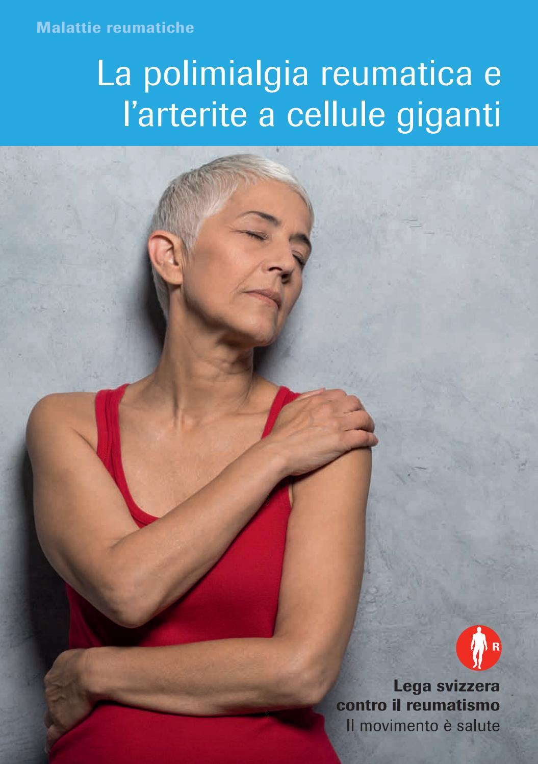 Artropatie infiammatorie nell'anziano