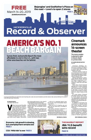 Jacksonville Record & Observer 3/14/19 by Daily Record