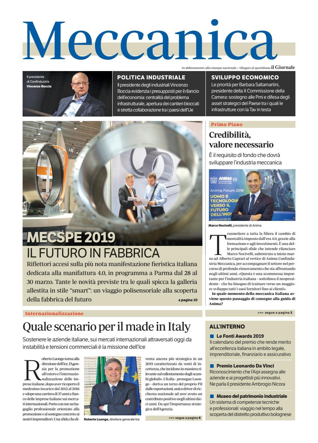 Simona Quaranta Calendario.Meccanica Marzo 2019 Ediz1 By Golfarelli Editore