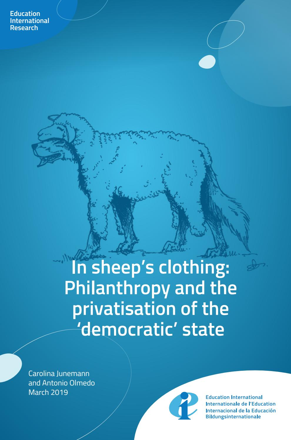 issuu.com - In sheep's clothing: Philanthropy and the privatisation of the 'democratic' state