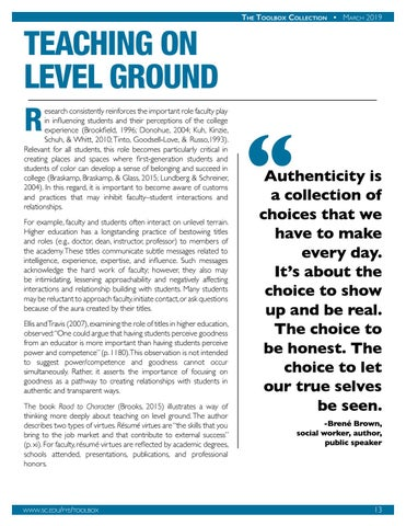 Page 14 of Teaching on Level Ground