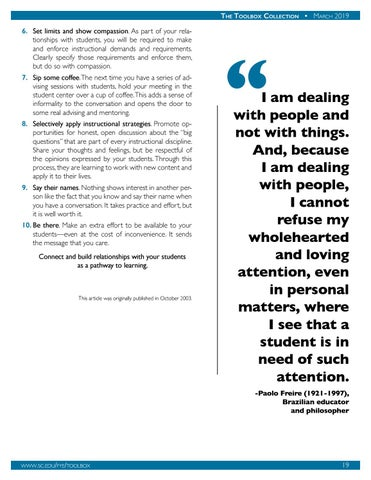 Page 20 of Fostering an Inclusive and Welcoming Classroom Environment