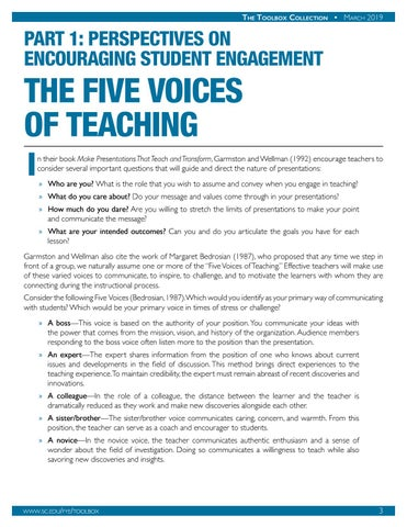 Page 4 of The Five Voices of Teaching