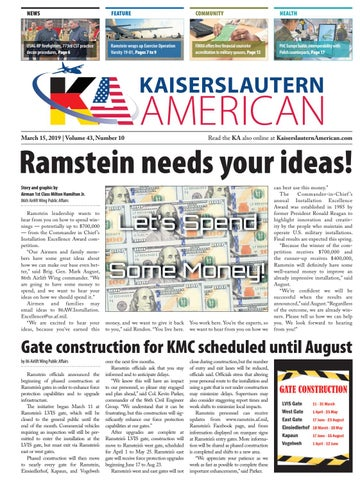 Kaiserslautern American, March 15, 2019 by AdvantiPro GmbH