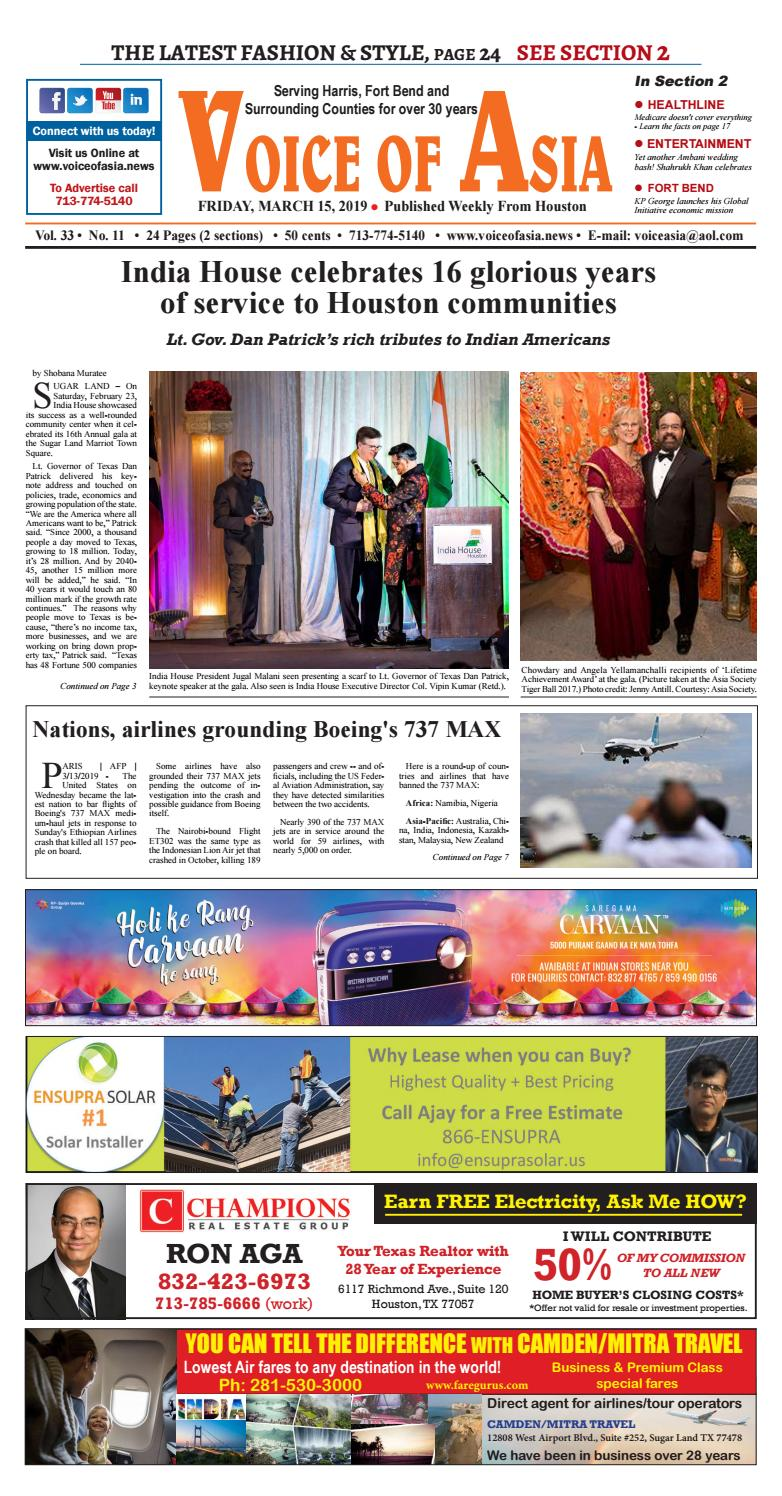Voice of Asia E paper March 40, 40 by VoiceOf Asia   issuu
