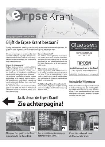 4ea85af4ec7 Erpse Krant 2019 - editie 9 by Erpse Krant - issuu