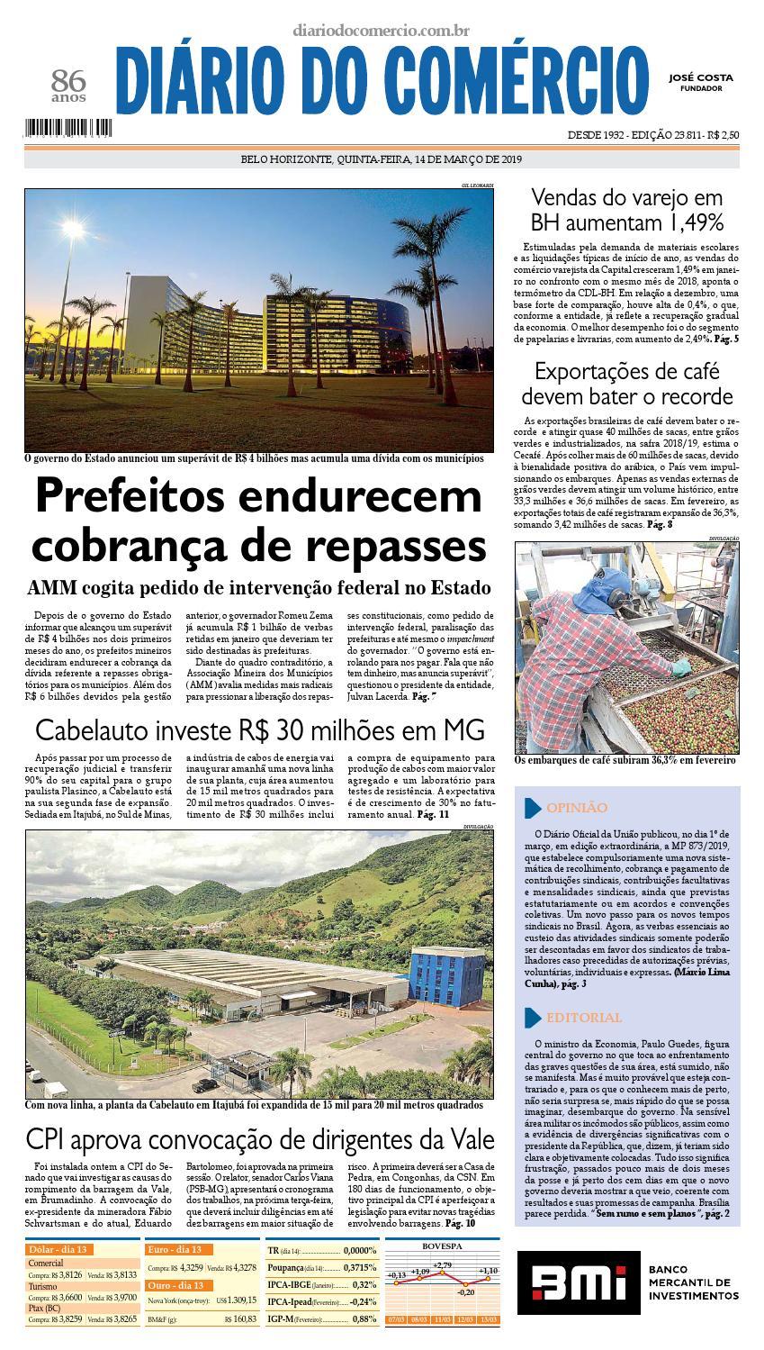 1af7f7658 23811 by Diário do Comércio - Belo Horizonte - issuu