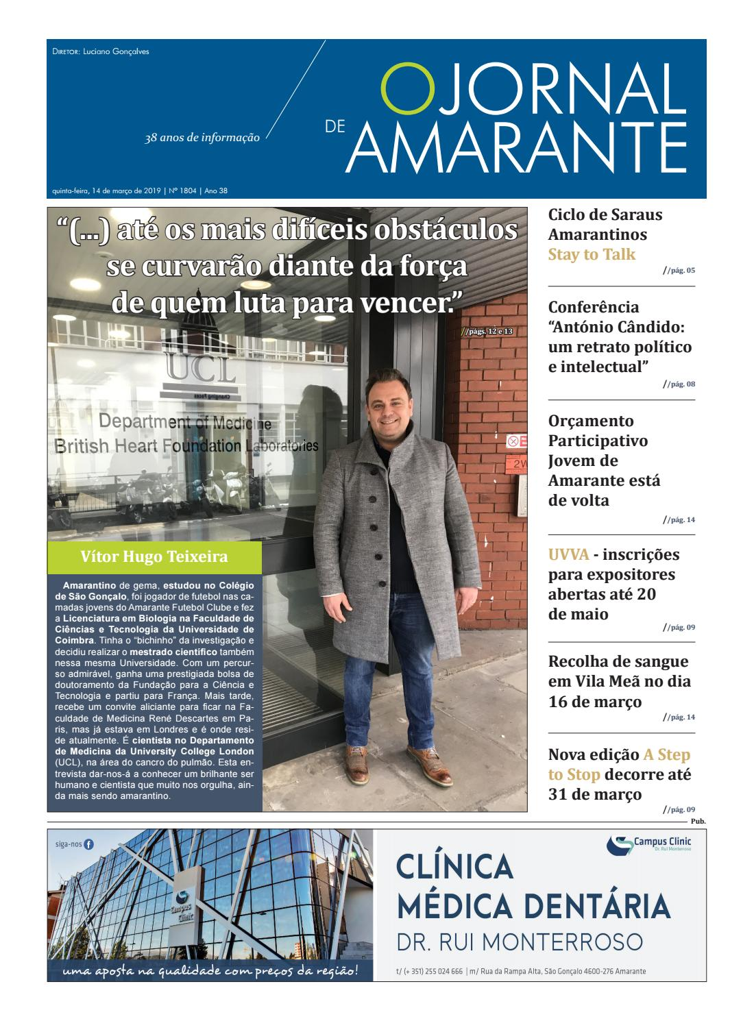 4837d940f9 Jornal de Amarante 1804 by MediatamegaLda - issuu