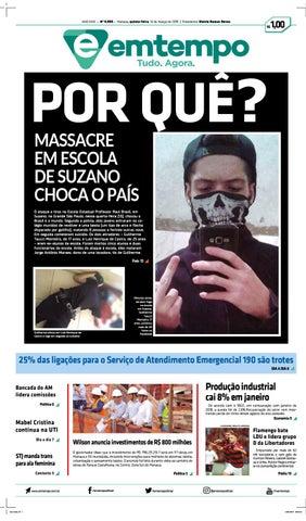 60f5e23cdce Em Tempo - 14 de Março de 2019 by Amazonas Em Tempo - issuu