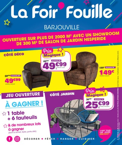 Catalogue réouverture Barjouville by La Foir\'Fouille - issuu