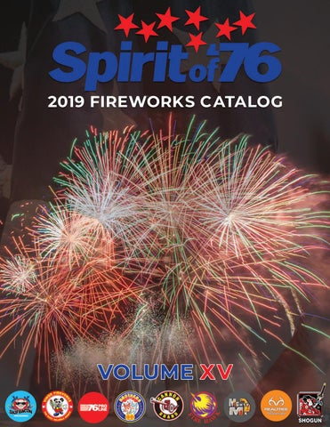 ccdd9781973a5e 2019 Fireworks Catalog - Spirit of  76 by Spirit of  76 Fireworks ...