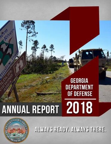 2018 Annual Report by Georgia National Guard - issuu