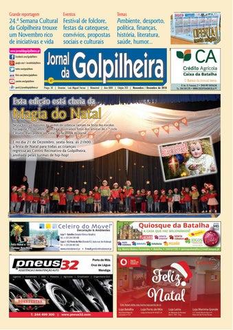 ccf403dee JG 252 Novembro Dezembro de 2018 by Jornal da Golpilheira - issuu