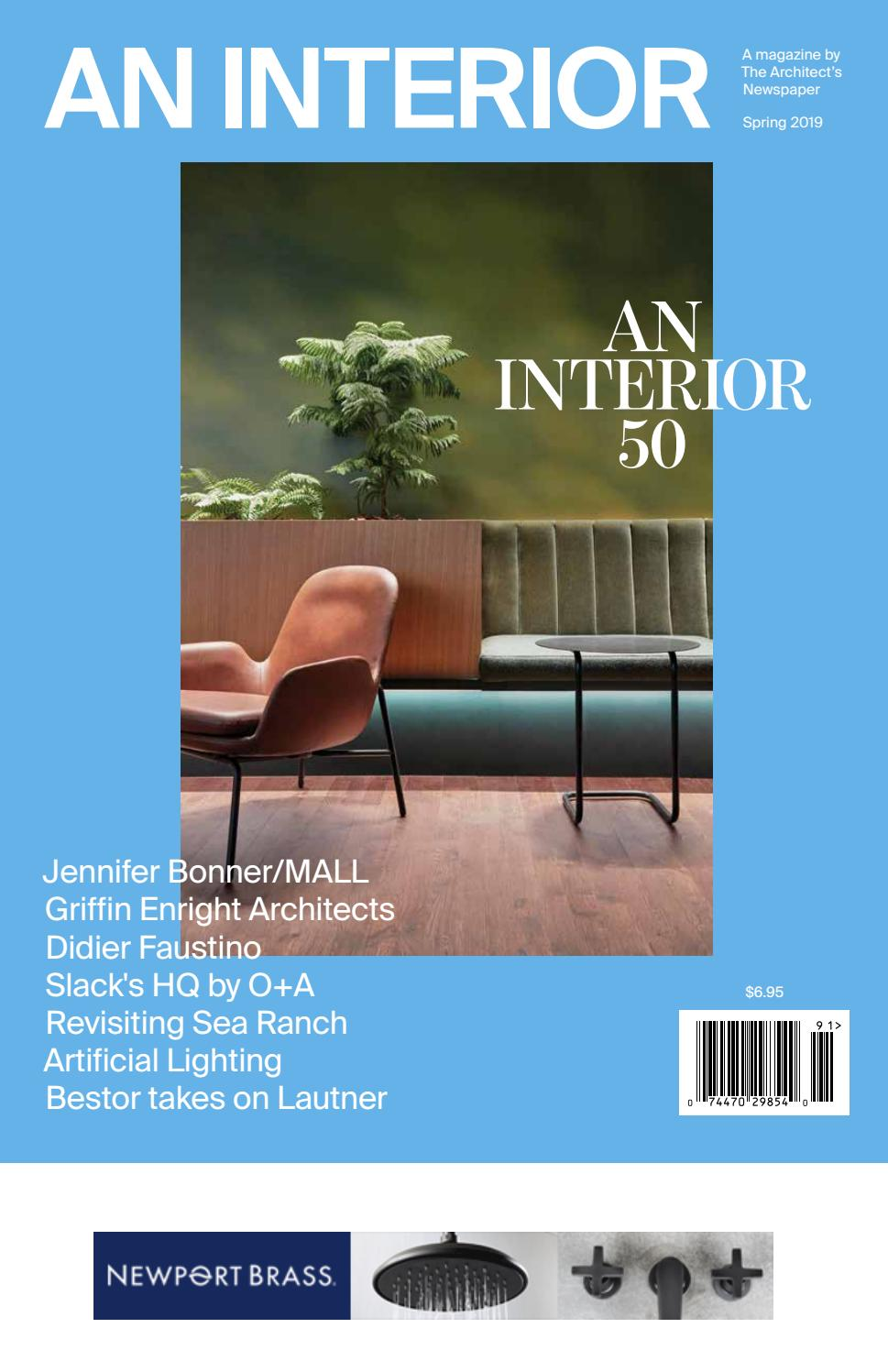 March 2019: An Interior by The Architect's Newspaper - issuu