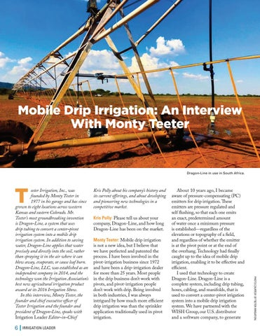 Page 6 of  Mobile Drip Irrigation: An Interview With Monty Teeter