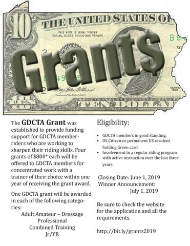 Page 13 of GDCTA Training Grants