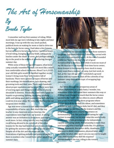 Page 16 of The Art of Horsemanship