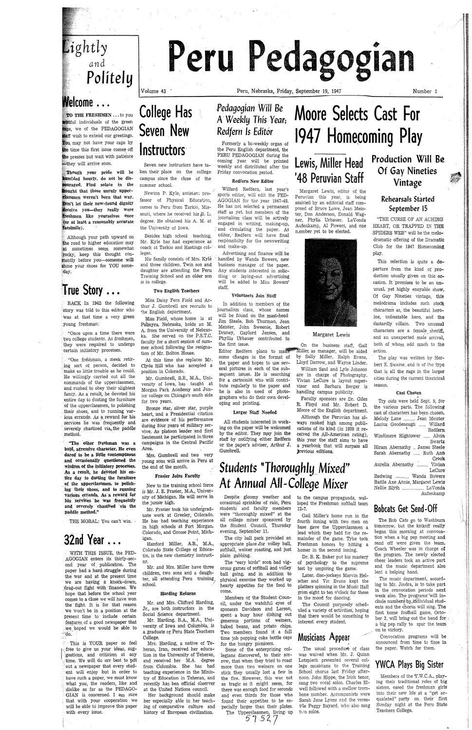 1947 1948 peru pedagogian issues 1 23 by peru state college1947 1948 peru pedagogian issues 1 23 by peru state college library issuu