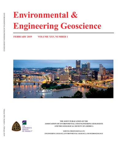 February 2019 Volume 25, Number 1 by Association of