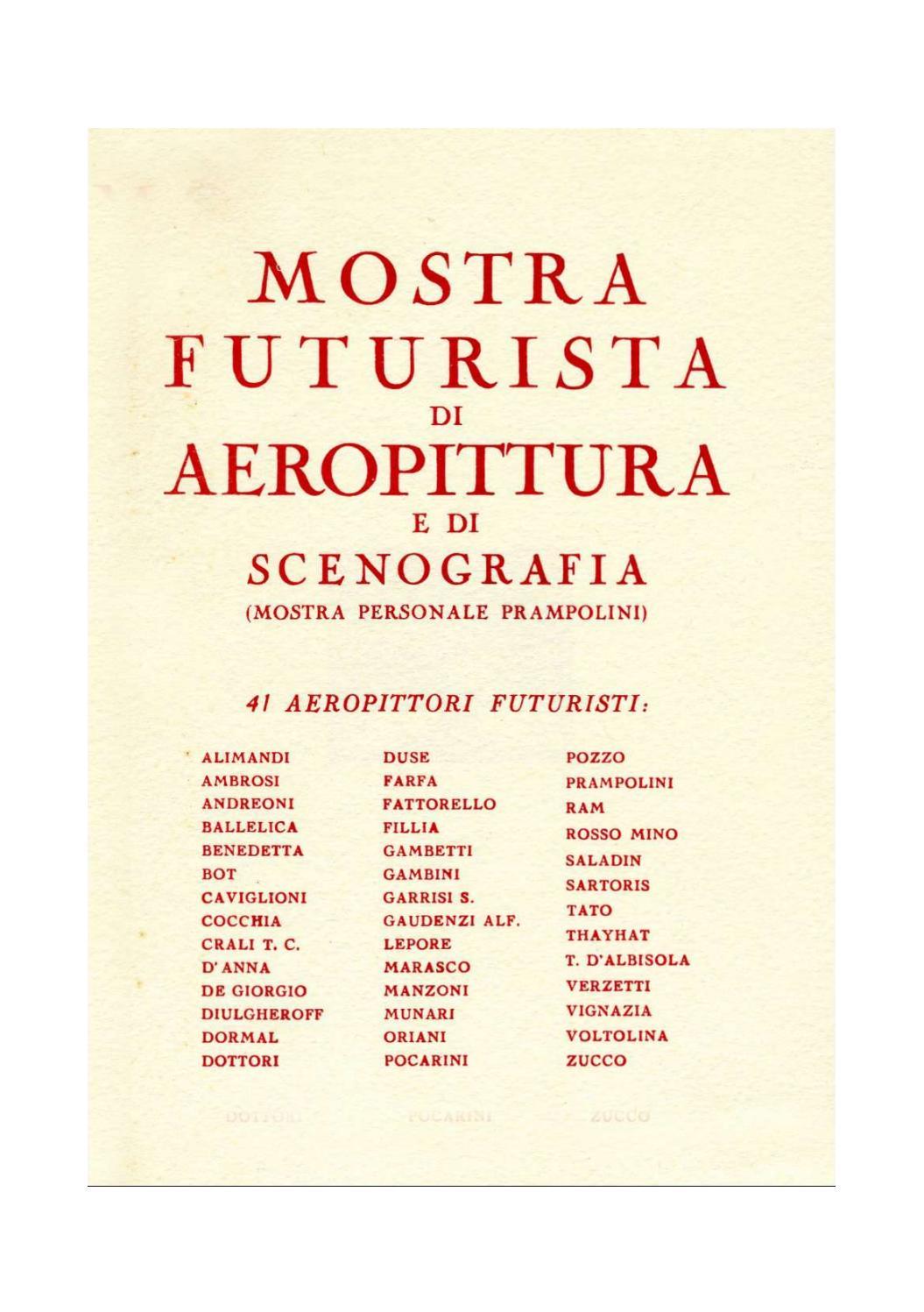 047_1931_MOSTRA FUTURISTA DI AEROPITTURA E DI SCENOGRAFIA ...