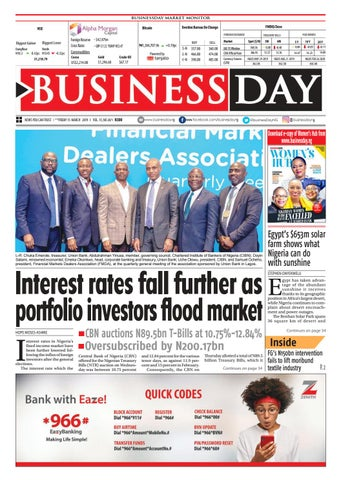 BusinessDay 15 Mar 2019 by BusinessDay - issuu