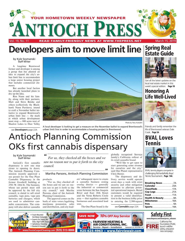 Antioch Press 03 15 19 By Brentwood Press Publishing Issuu