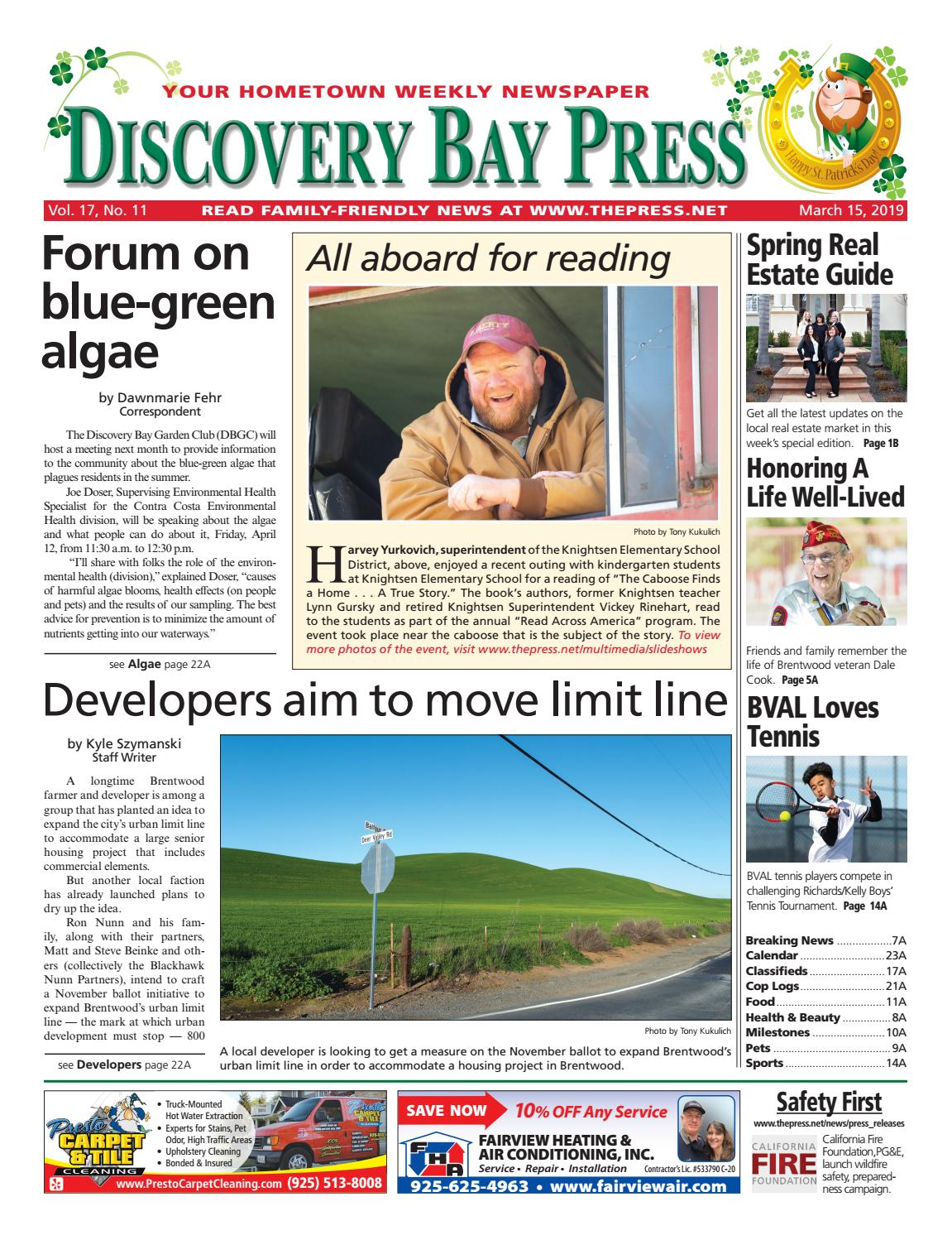 8521c106639 Discovery Bay Press 3.15.19 by Brentwood Press   Publishing - issuu