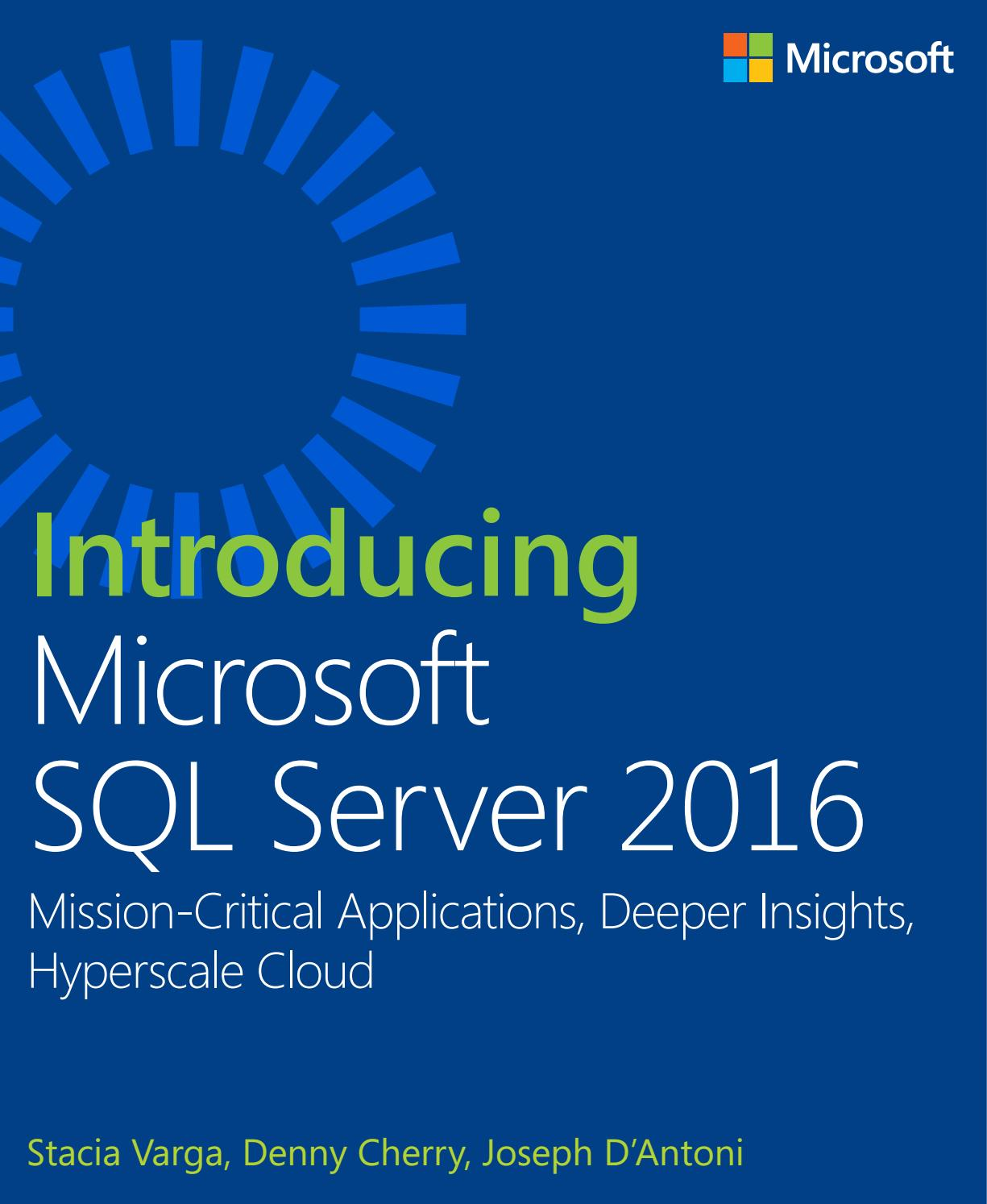 Sql Server 2016 Básico by Carlos Santana - issuu