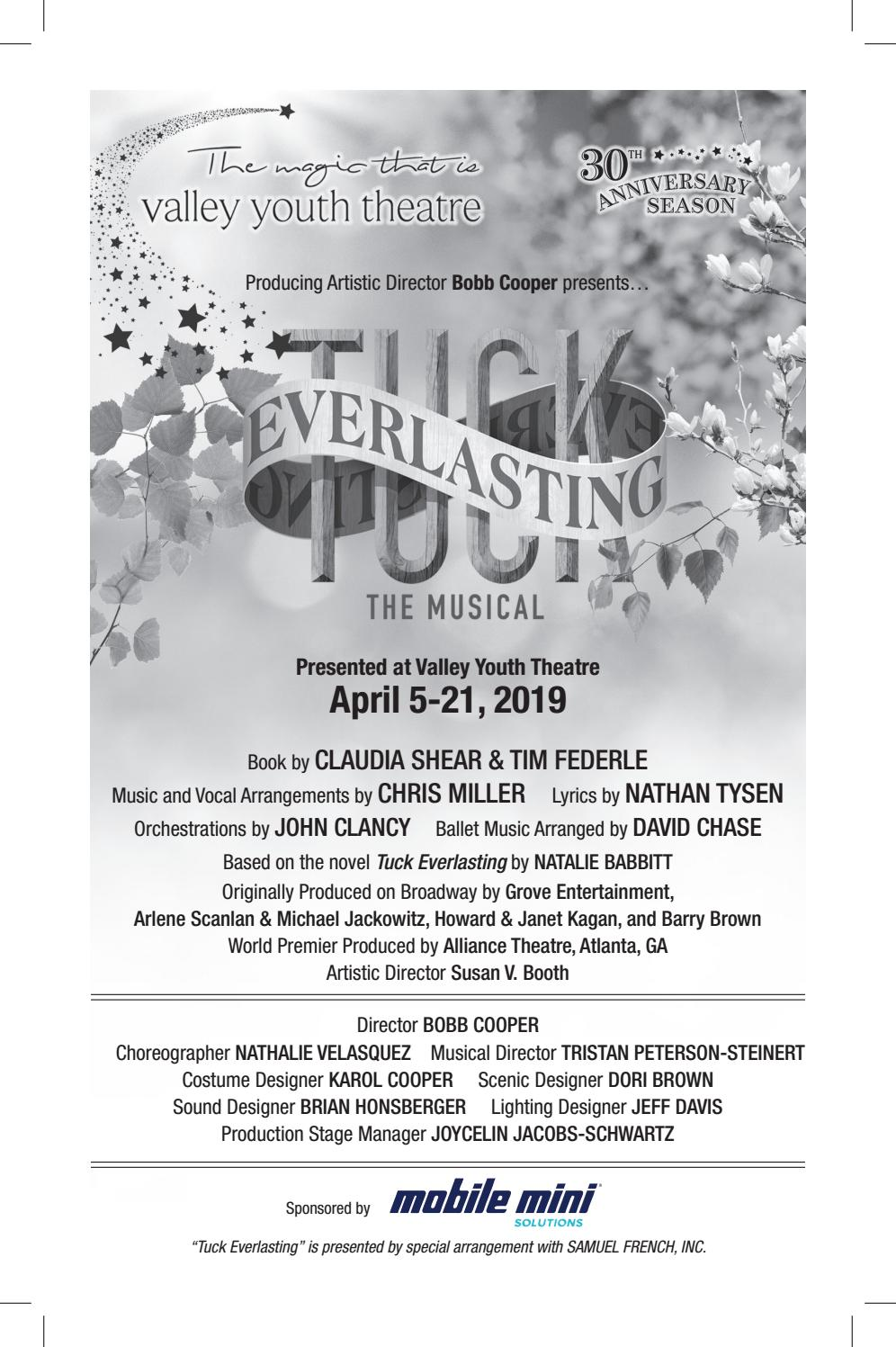 Vyt Tuck Everlasting The Musical