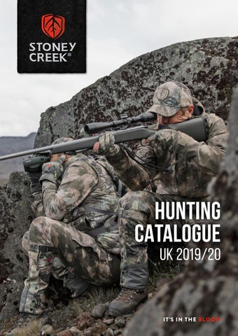 Stoney Creek 2019 Hunting Catalogue (UK) by Stoney Creek - issuu