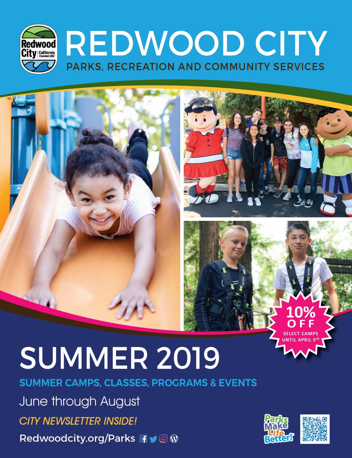 bcdd4e6511e9 Summer Activity Guide 2019 by Redwood City Parks, Recreation & Community  Services - issuu