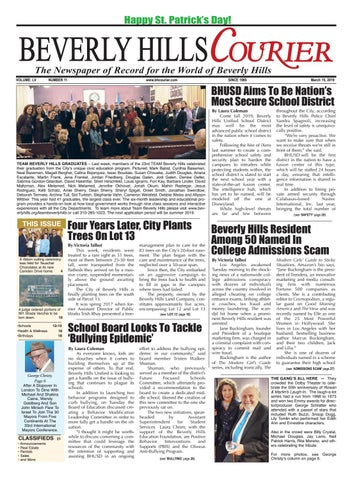 BH Courier E-edition 031519 by The Beverly Hills Courier - issuu