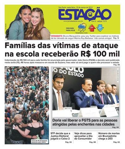 9fc7fdd8d Jornal Estação de 15/03/2019 - Ed. 1272 by Jornal Estação - issuu