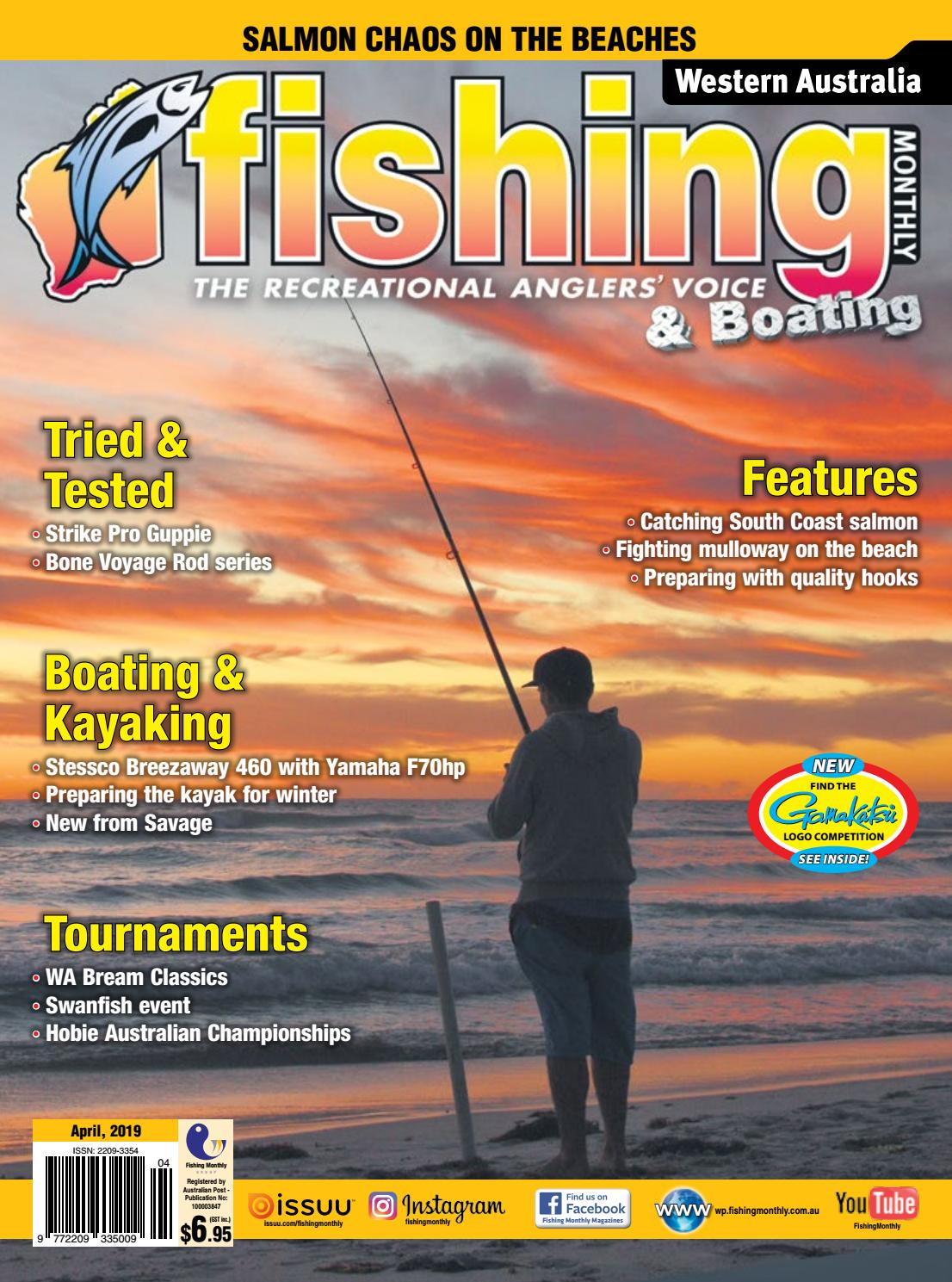 Western Australia Fishing Monthly April 2019 By Fishing Monthly Issuu