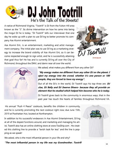 Page 14 of DJ Tootrill! He's the Talk of the Streetz!