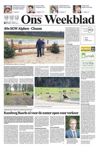 59c21e244d0 Ons Weekblad 15-03-2019 by Uitgeverij Em de Jong - issuu