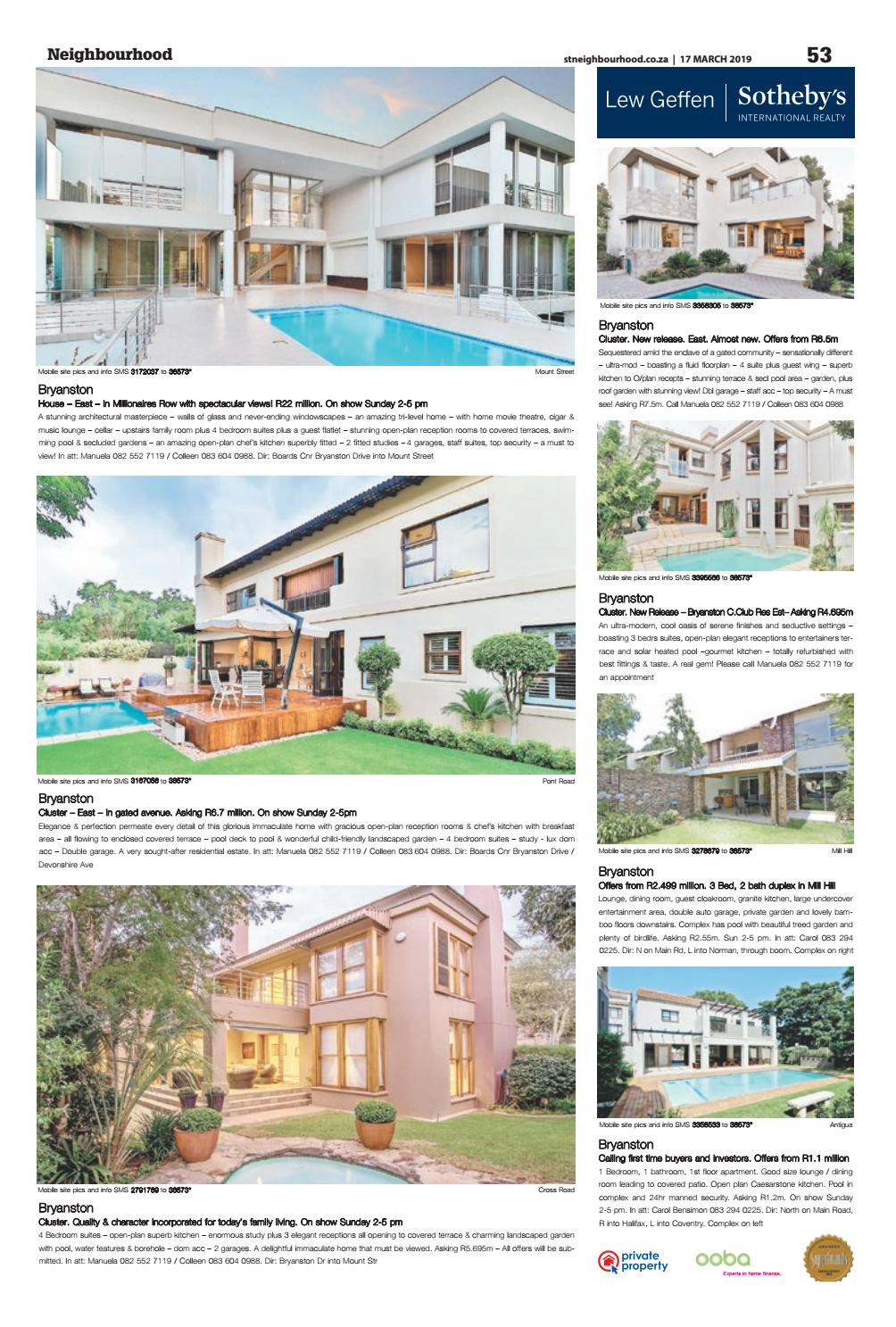 Neighbourhood JHB - 17 March 2019 by Your Neighbourhood - issuu