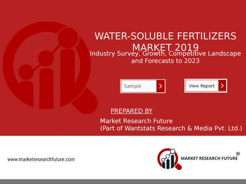 Page 1 of Water-Soluble Fertilizers Market Research Report by Size, Share, Demand, Global Analysis and Forecast to 2023