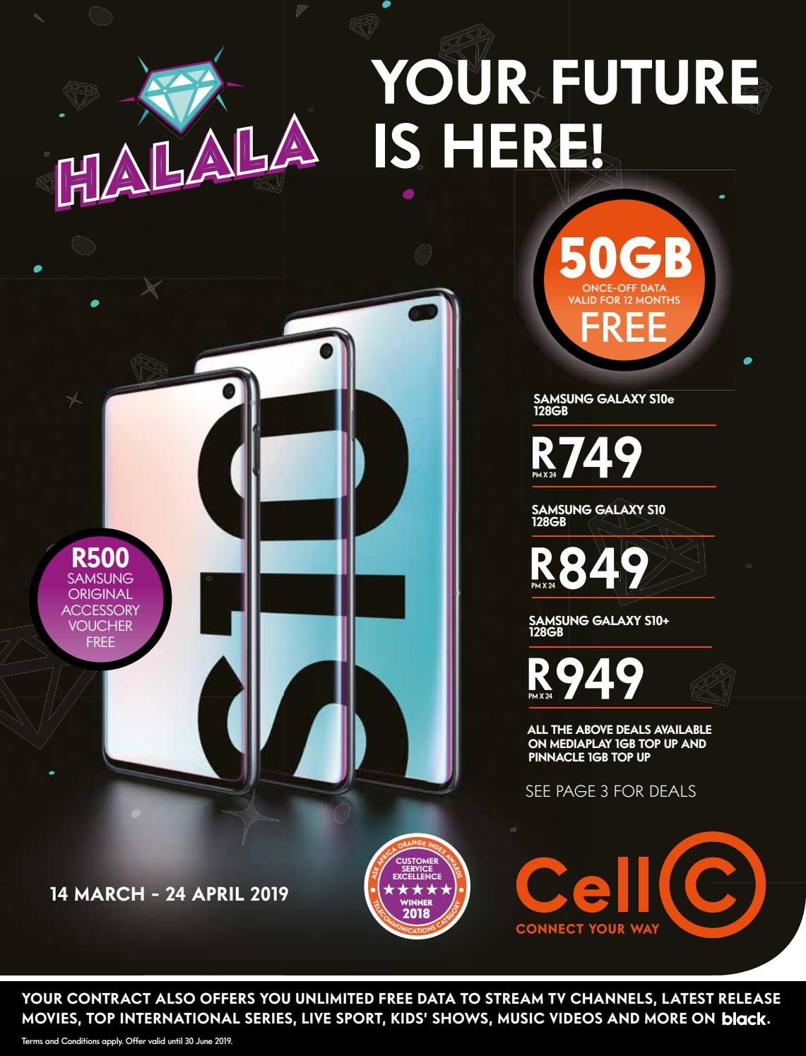 Cell C Franchise Booklet March 2019 by Cell C South Africa - issuu