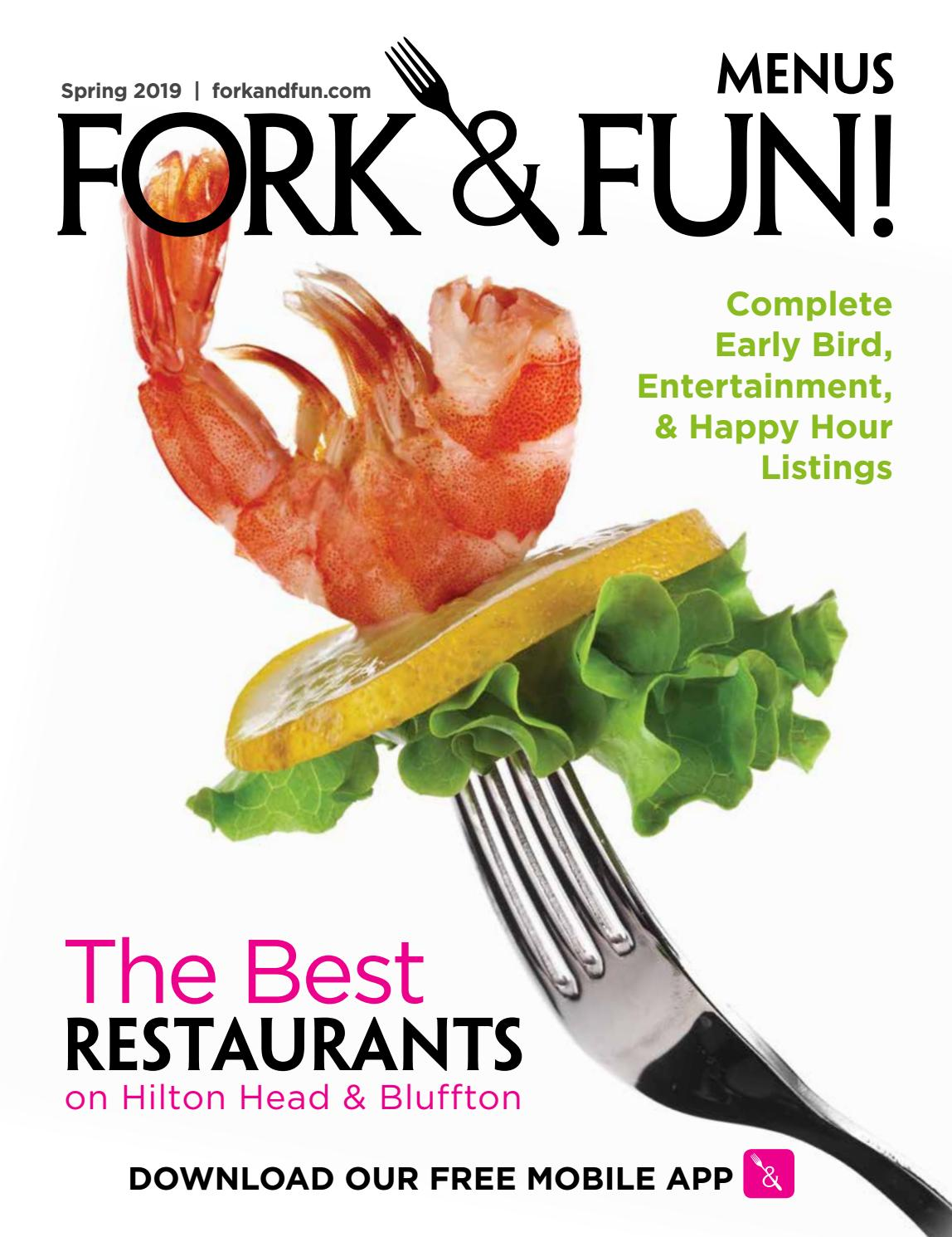 Fork and Fun Hilton Head and Bluffton Spring 2019 by Hilton
