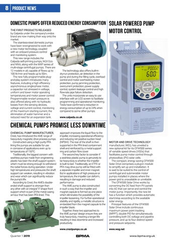 Page 8 of Pump product news