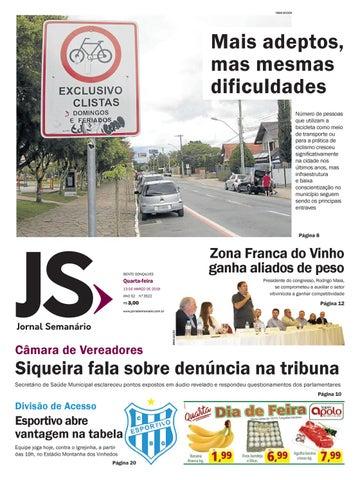 8e16b27ed Jornal Semanário – 13 de março de 2019 – ano 52 – nº 3522 by Jornal ...