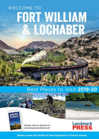 Welcome to Fort William and Lochaber Bedroom Folder 2019-20